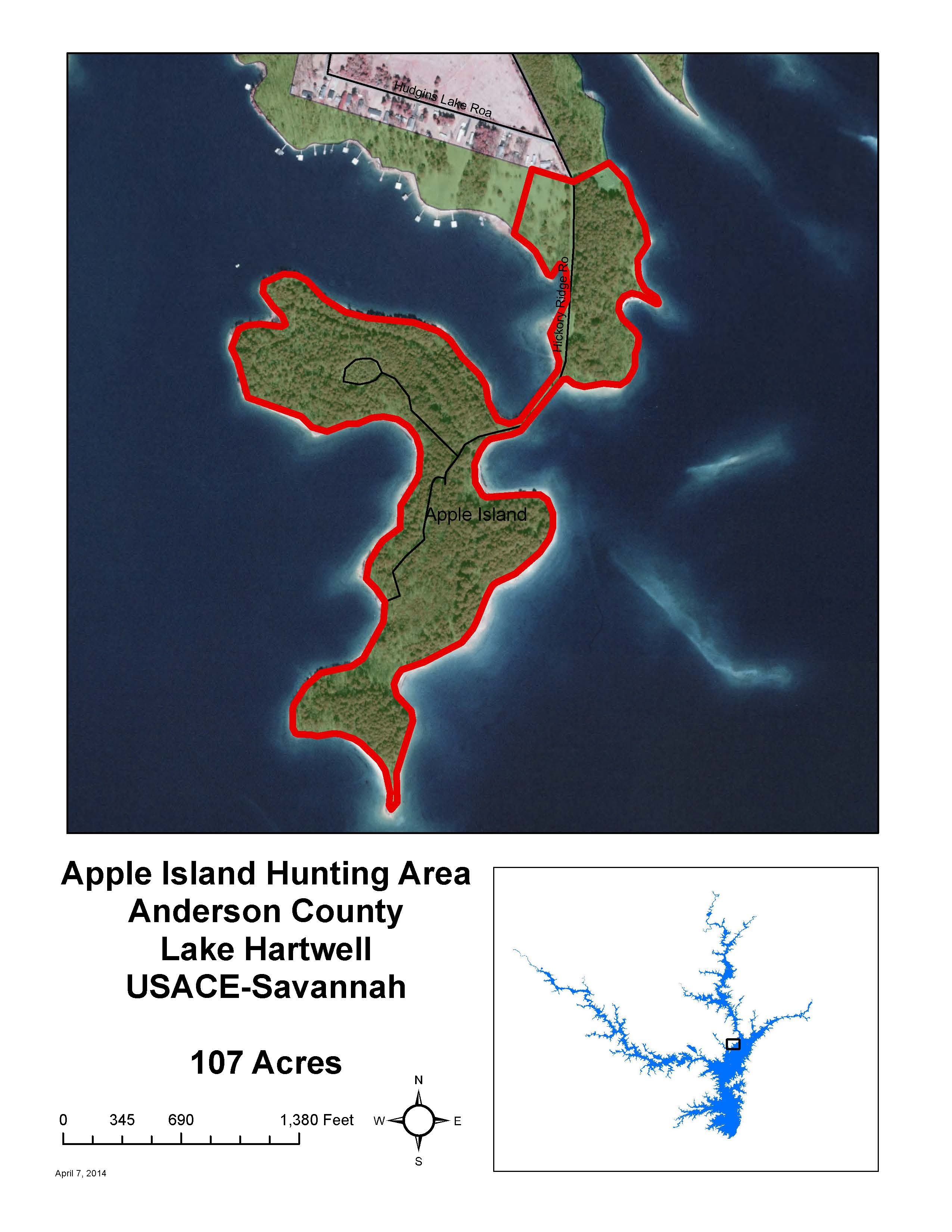 apple island recreation area pdf anderson co sc 107 acres