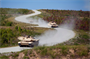 Soldiers from the Armor School maneuver tanks on a series of tank trails at Fort Benning, Ga. The trails were constructed by the U.S. Army Corps of Engineers Savannah District undre the Base Realignment and Closure (BRAC) Program. BRAC required the Armor School to relocate to Fort Benning from Fort Knox, Ky., joining the U.S. Army Infantry School to form the Maneuver Center of Excellence. The move brought more than 7,500 soldiers and 500,000 pieces of equipment to the new facilities at Harmony Church. The move was part of the Base Realignment and Closure initiative and supported the overarching concept that since infantry and armor fight together, they should live and train together.