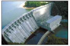 This is a picture of Allatoona Dam, Georgia